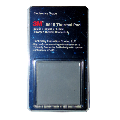 3M 5519 thermal pad in packaging