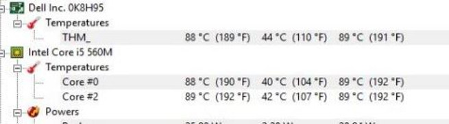 Comparison test of temperature of CPU that is using IC Graphite thermal pads