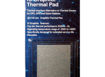 IC Graphite 40x40 thermal pad in packaging